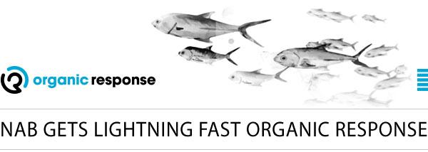 Organic Response banner